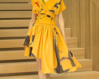 Sukienka Kinbaku żółta