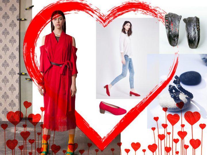 Walentynkowe stylizacje od Joanny Hawrot