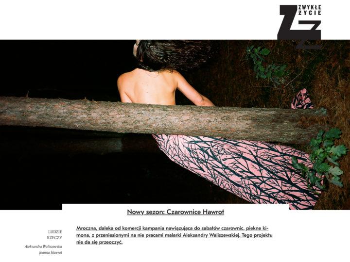 Zwykłe Życie o kampanii HAWROT x WALISZEWSKA