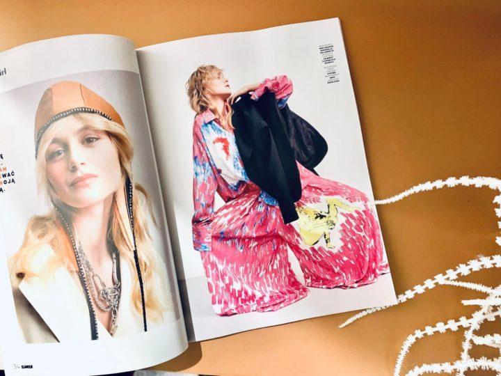 Rosalie w komplecie z kolekcji Hawrot x Angelika Markul w magazynie Glamour