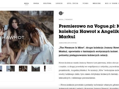 Premiera nowej kolekcji w Vogue Polska!